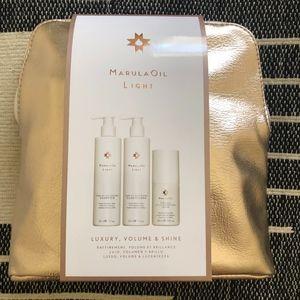 Marula Oil Light Rare Oil Gift Set $82 Value